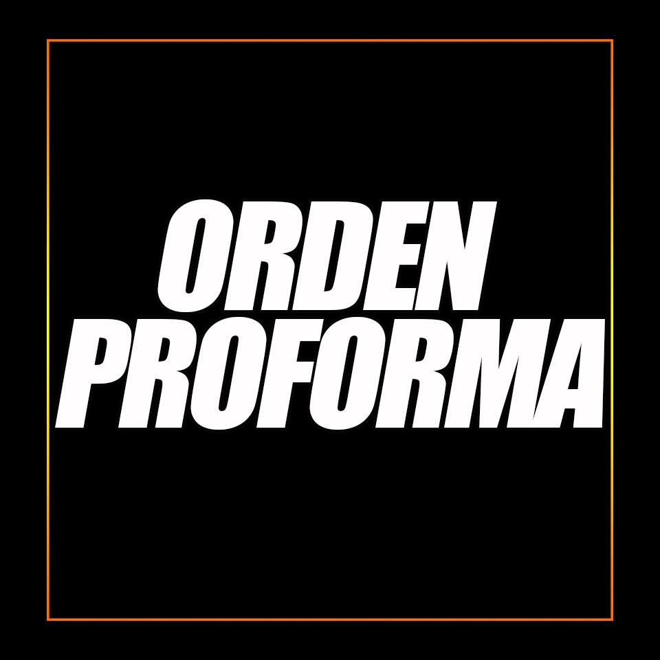 ORDEN PROFORMA